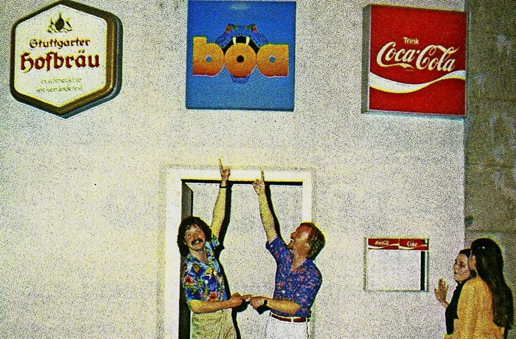 Die Boa-Chefs in den Anfangsjahren.. Foto: privat