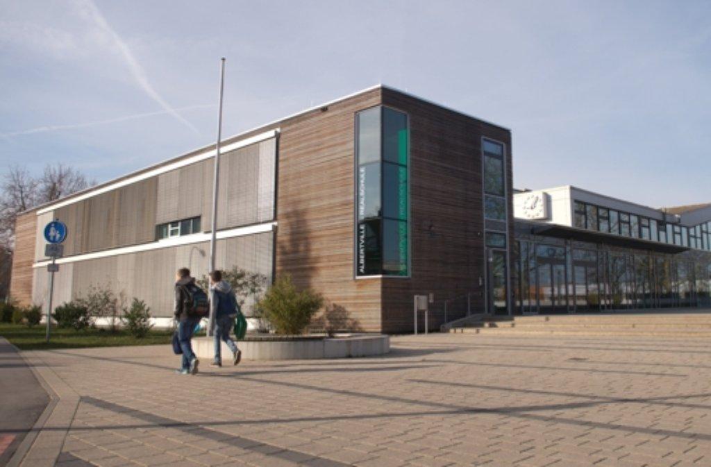 Die Albertville-Realschule in Winnenden war 2009 der Schauplatz eines Blutbads. Foto: dpa