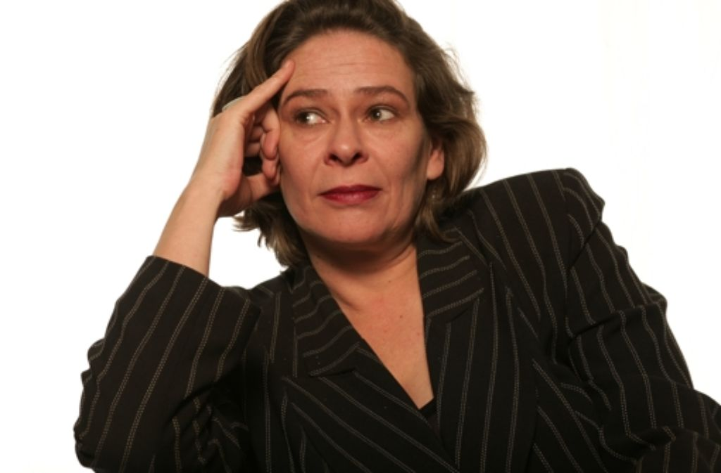 Eva Hosemann sagt Lebewohl. Foto: StZ Archiv