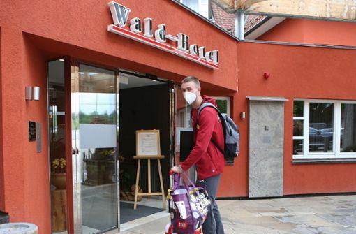 VfB bezieht Quartier im Degerlocher Waldhotel