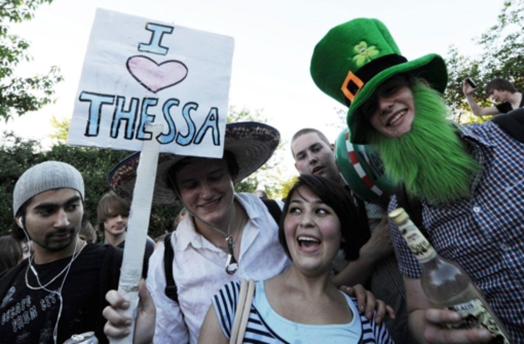 Mit Thessa hat alles angefangen. In Freiburg ist am Donnerstagabend mal wieder eine Facebook-Party aus dem Ruder gelaufen Foto: dpa