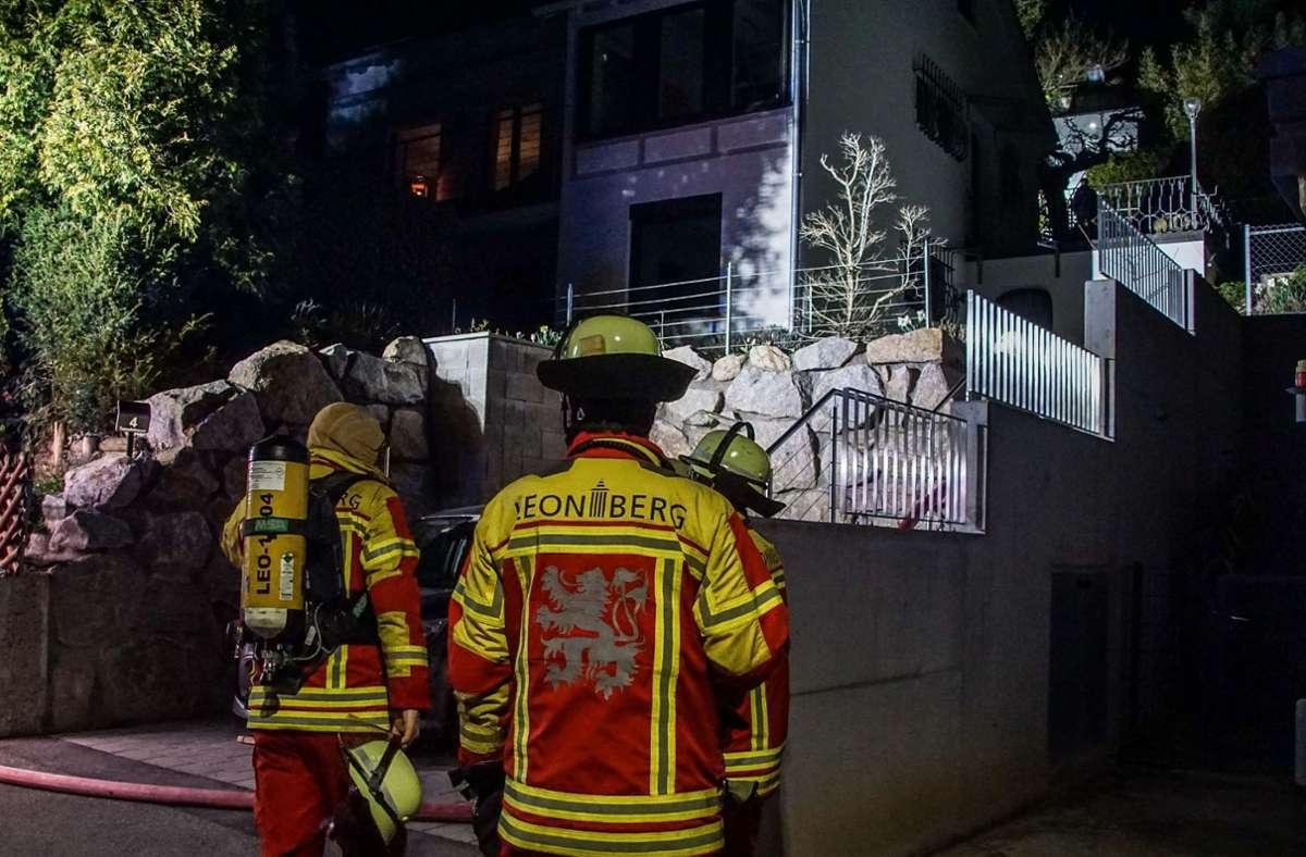 Ein Brand rief am Sonntagabend die Feuerwehr auf den Plan. Foto: SDMG/ / Dettenmeyer