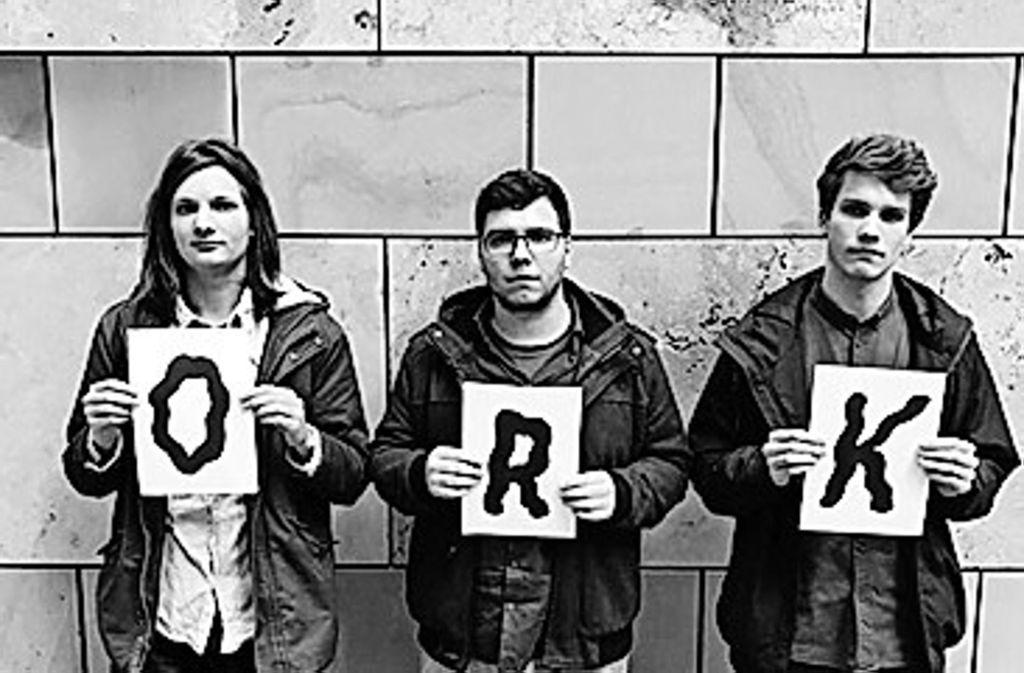 Siegreiche Studentenband: Jakob Obleser, Dan Roncari und Lucas Klein (von links) Foto: Band