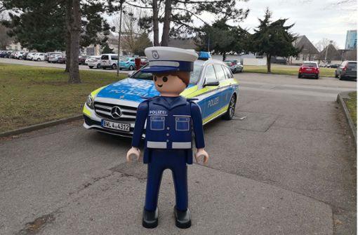 Polizeimaskottchen Heinz ist wieder aufgetaucht