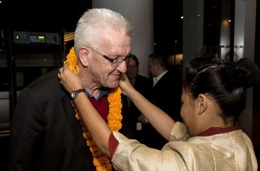 Ministerpräsident Kretschmann zu Besuch in Indien