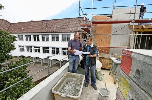 Eine Dachterrasse für die Grundschule