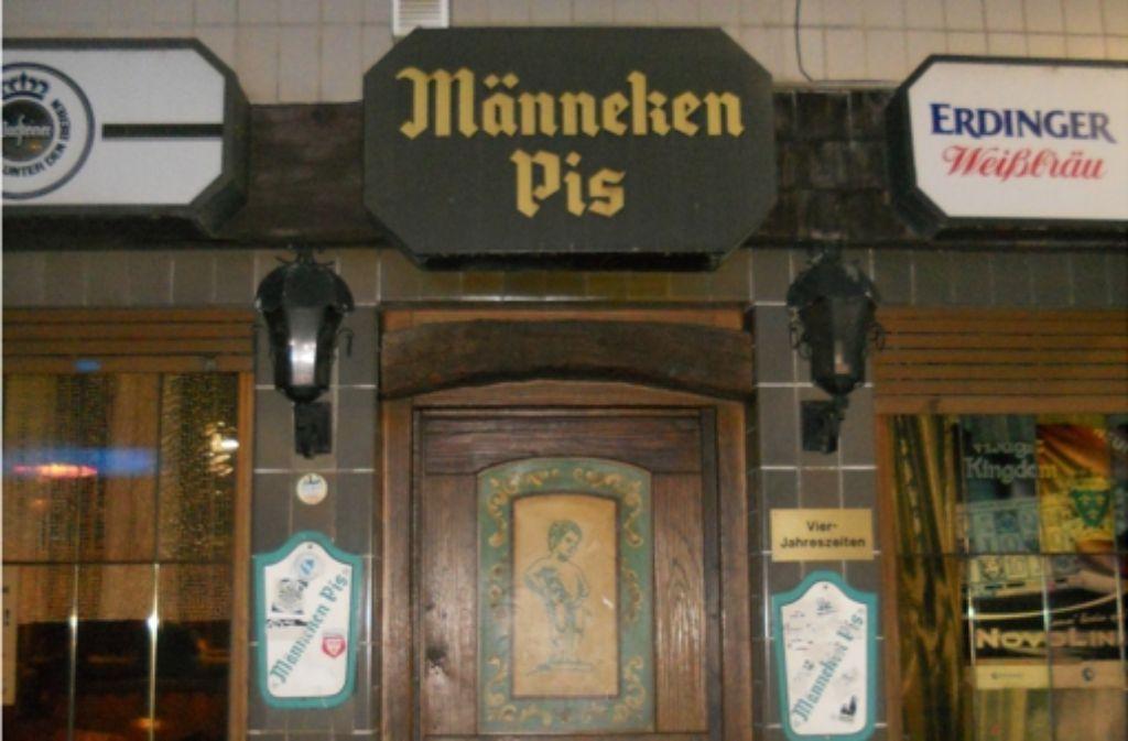 Das Männeken Pis ist an der Brunnenstraße zu finden. Foto: Annina Baur