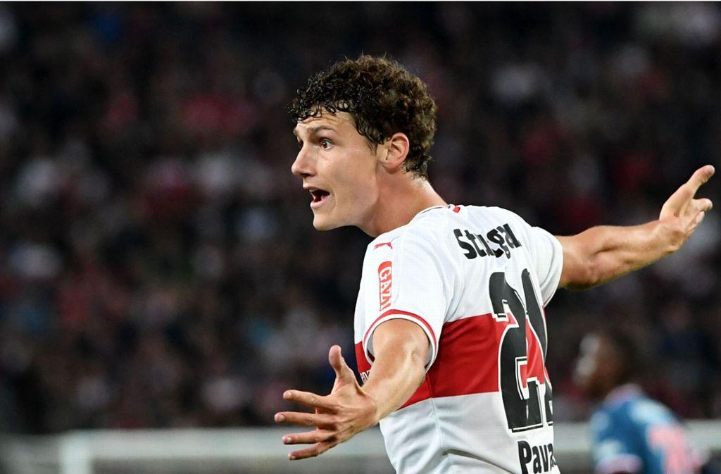Bleibt Benjamin Pavard über diese Saison hinaus beim VfB Stuttgart? Foto: dpa