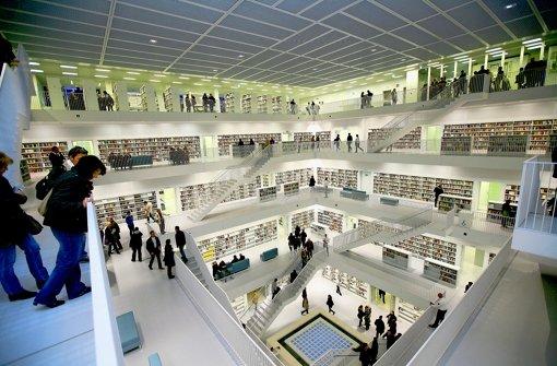 Die Bibliothek des Jahres steht in Stuttgart