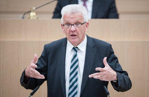Kretschmann setzt auf Einigung mit Kommunen