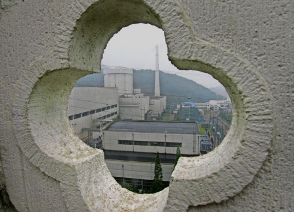 Das AKW von Quinshan  ist eine der ältesten Atomanlagen Chinas. Peking  setzt auf emissionsfreie Atomkraft, denn die Luftverschmutzung macht den Bürgern zu schaffen. Foto: AFP, Getty