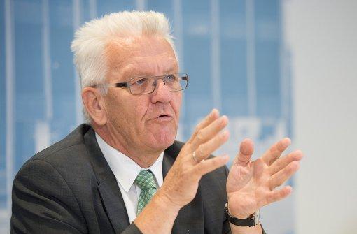 Kretschmann spricht Bosch Vertrauen in Abgasaffäre aus