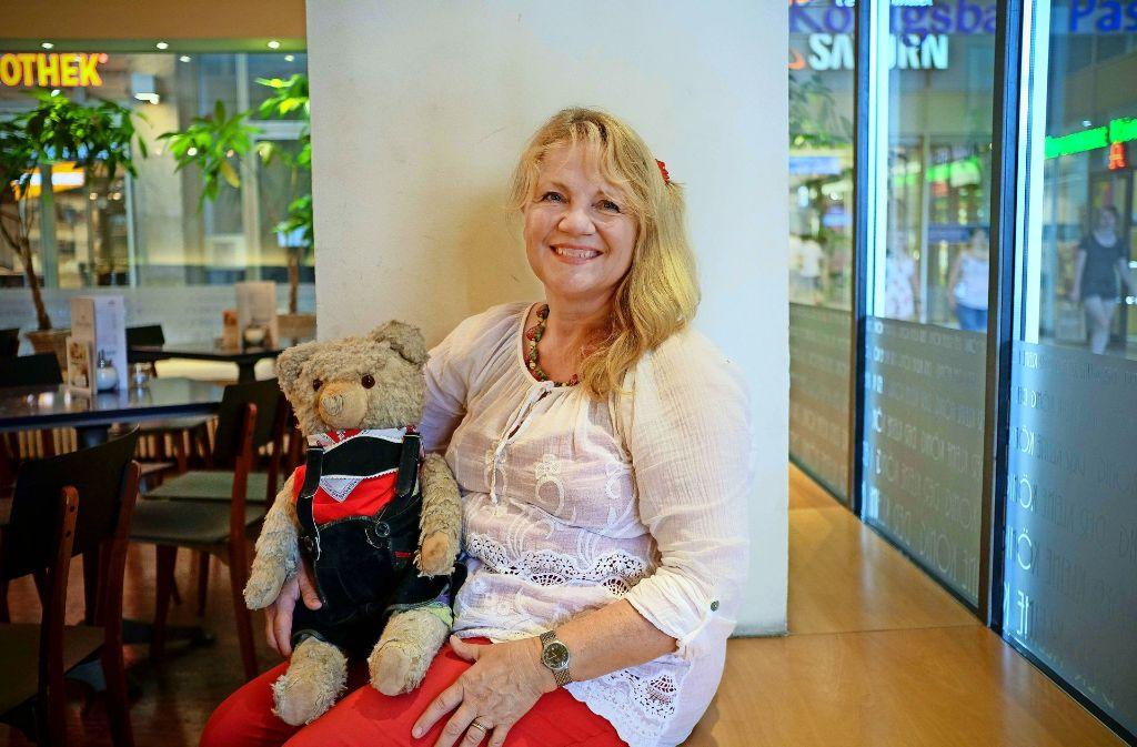 Sabine Essingers Vertrauter heißt Konrad – seit ihrer Kindheit. Foto: Lg/Leif Piechowski