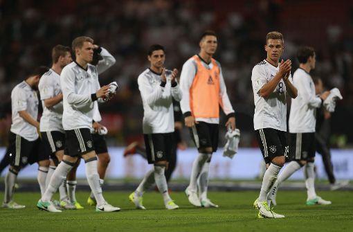 Weltmeister Deutschland mit Schützenfest gegen San Marino