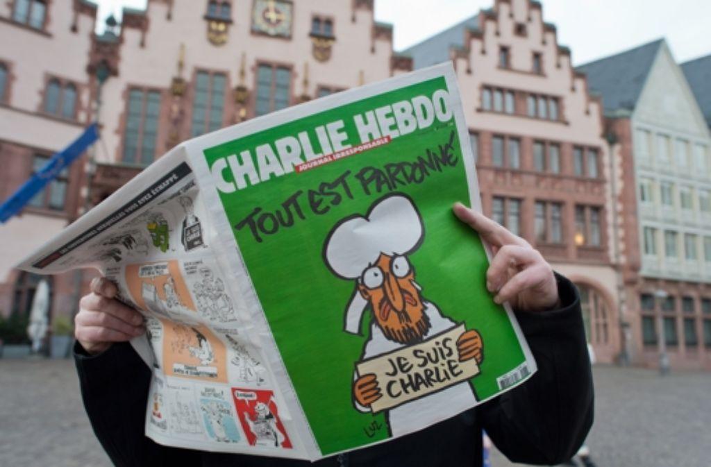In Stuttgart wird es maximal 90 Auflagen von Charlie Hebdo geben.  Foto: dpa