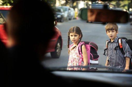 Breitere Gehwege sind für Schüler sicherer