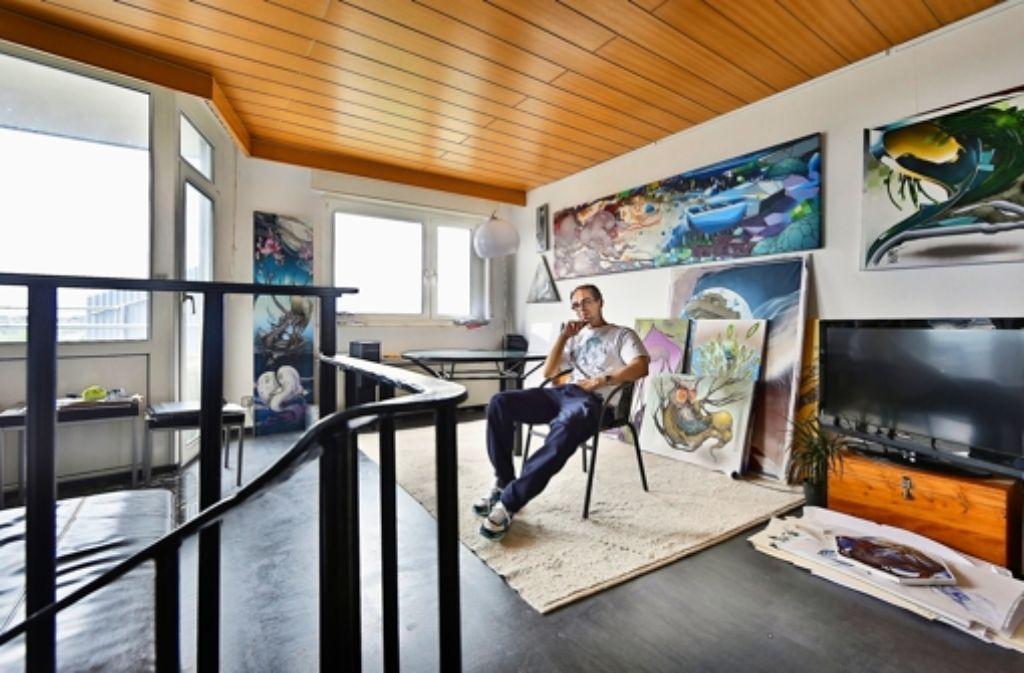 Stuttgarter wohnzimmer wie ein dorf in der vertikalen for Wohnzimmer stuttgart