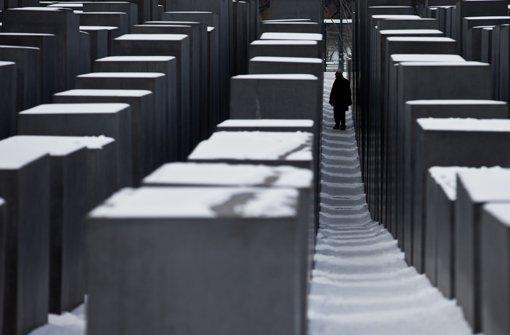 Die Berliner Holocaust-Gedenkstätte wird am Sonntag hohen Besuch erleben. Foto: dpa