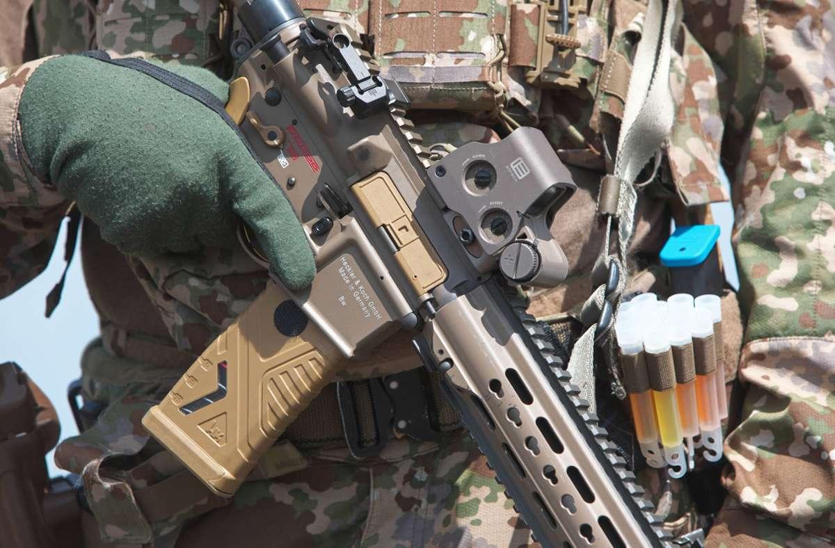 Sturmgewehr von Heckler & Koch Foto: imago images/Björn Trotzki/Björn Trotzki via www.imago-images.de
