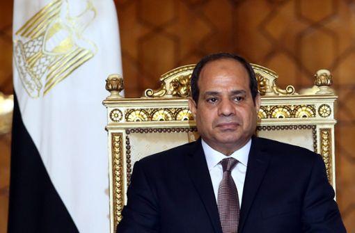 Verein zieht Orden an ägyptischen Präsidenten zurück
