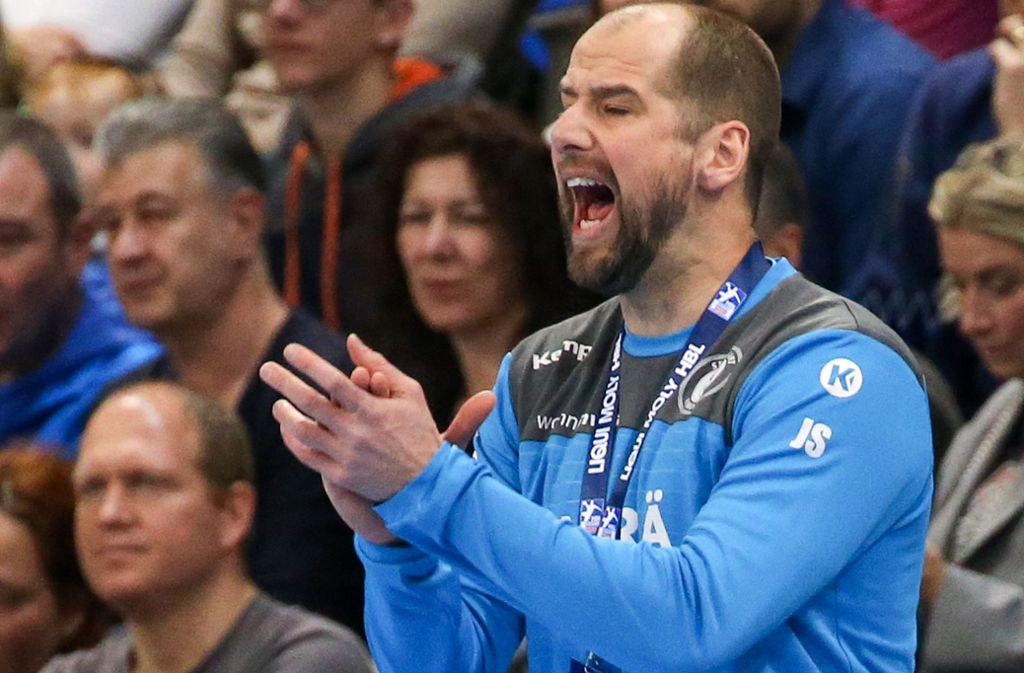 Auch in der kommenden Saison Trainer des TVB Stuttgart: Jürgen Schweikardt. Foto: Baumann