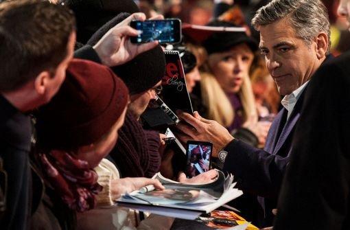 "Clooney stellt ""The Monuments Men"" vor"