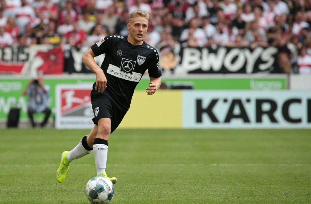 Muss eine interne Strafe hinnehmen: Santiago Ascacibar vom VfB Stuttgart Foto: Baumann