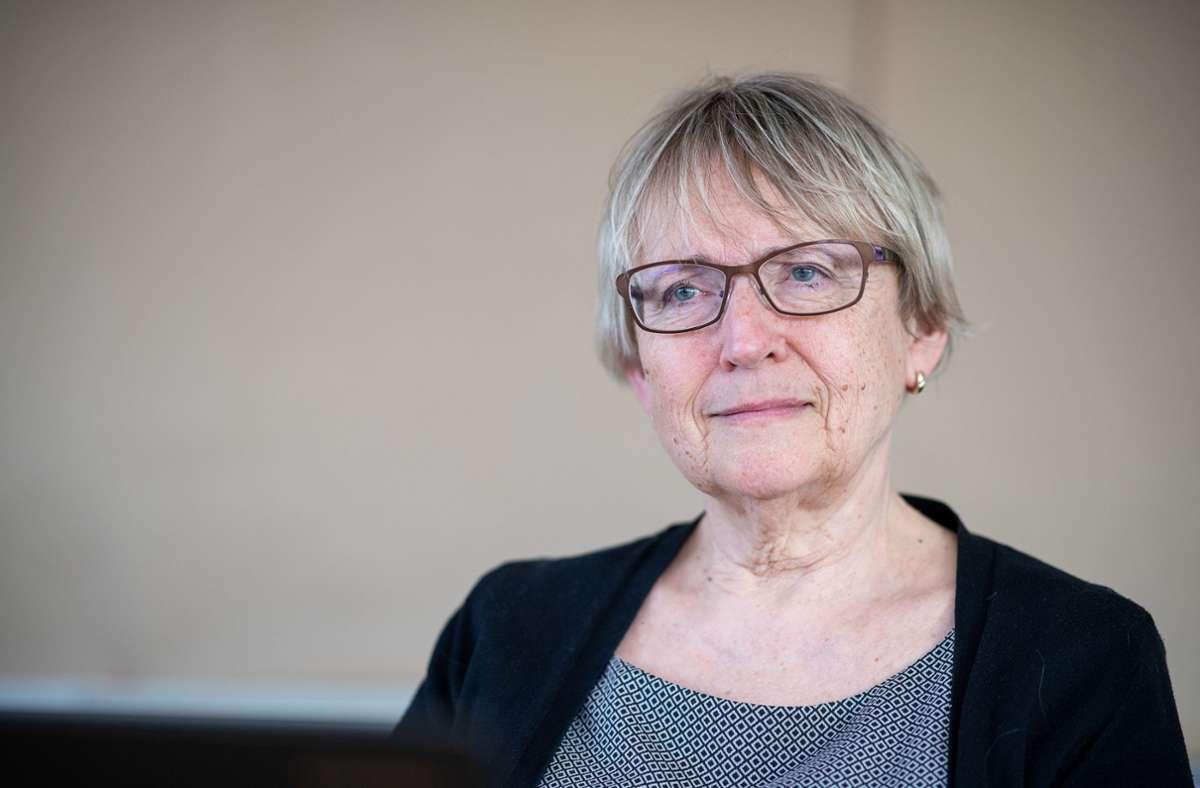 Die langjährige BUND-Landesvorsitzende: Brigitte Dahlbender Foto: dpa/Sebastian Gollnow