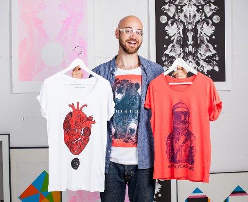 Kunst auf Shirts