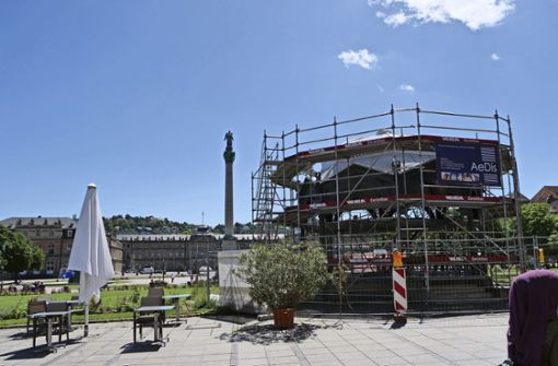 Musikpavillon erstrahlt bald  in neuem Glanz
