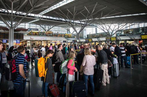 Flughafen rechnet mit Rekordansturm von Passagieren