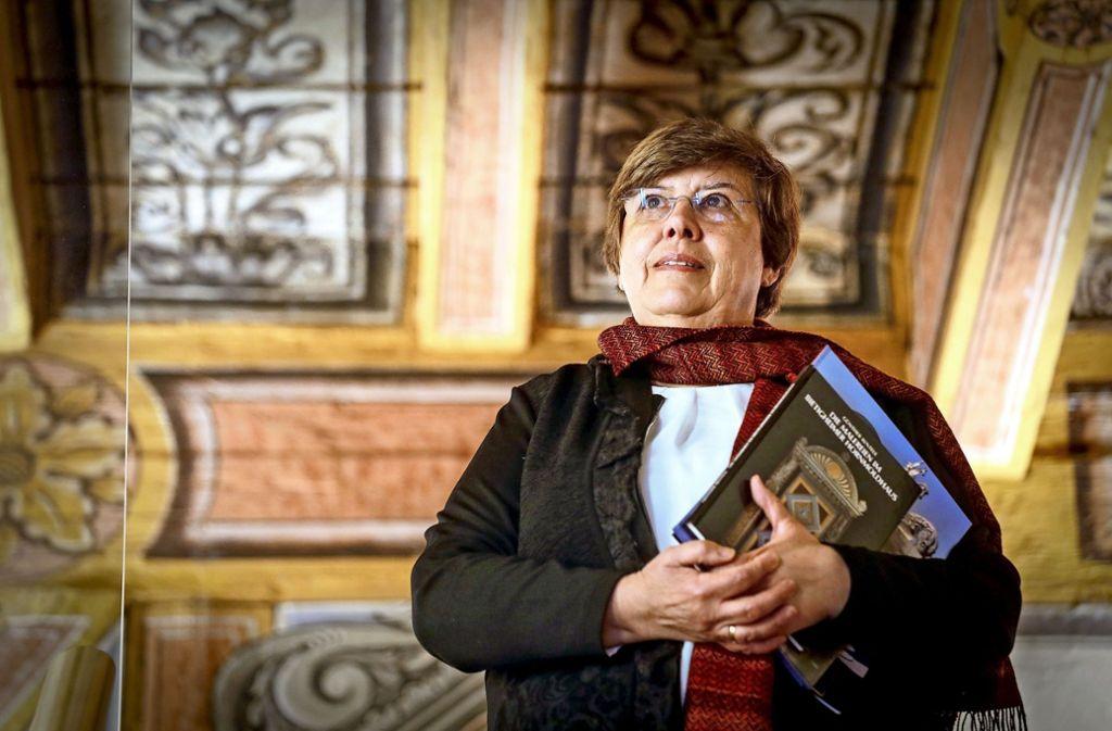 Regina Ille-Kopp hört als Leiterin des Hornmoldhauses auf. Foto: factum/Simon Granville