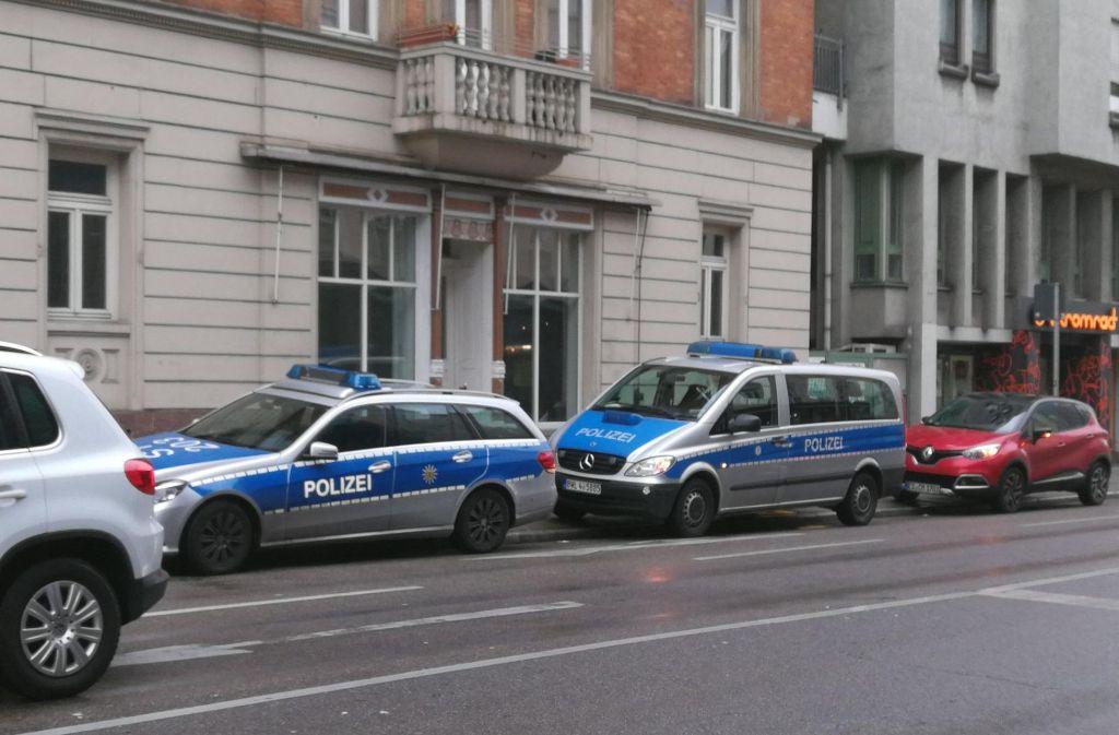 Der Kiosk am Olgaeck in Stuttgart ist am Mittwochvormittag überfallen worden. Foto: 7aktuell.de/Frank Herlinger