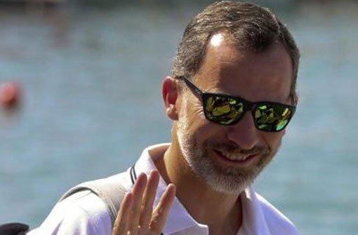 Gegenwind für König Felipe von Spanien