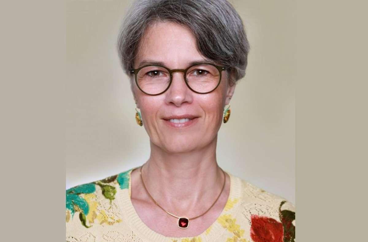 Die 52-jährige Soziologin möchte Rathauschefin in Schönaich werden Foto: Beate Imschweiler