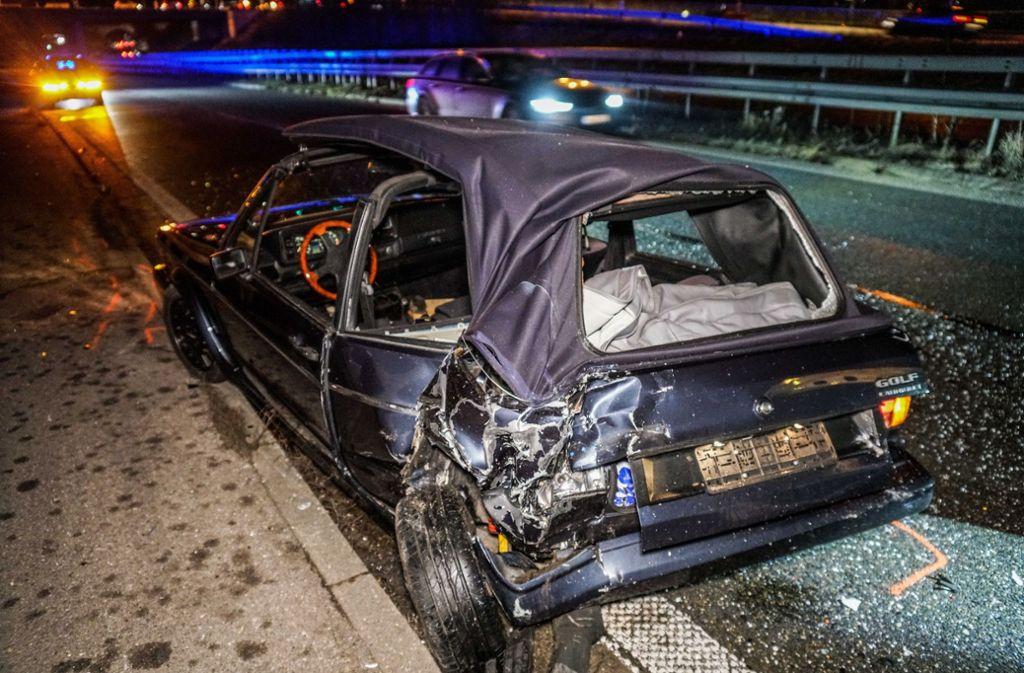 Die beiden Autos waren nach dem Unfall nicht mehr fahrbereit. Foto: SDMG/ / Kohls
