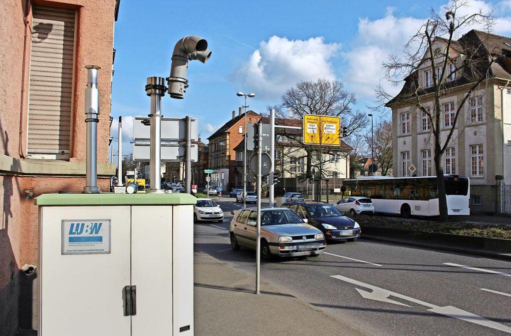 In Ludwigsburg werden schon länger die  Schadstoffewerte gemessen. Foto: Pascal Thiel