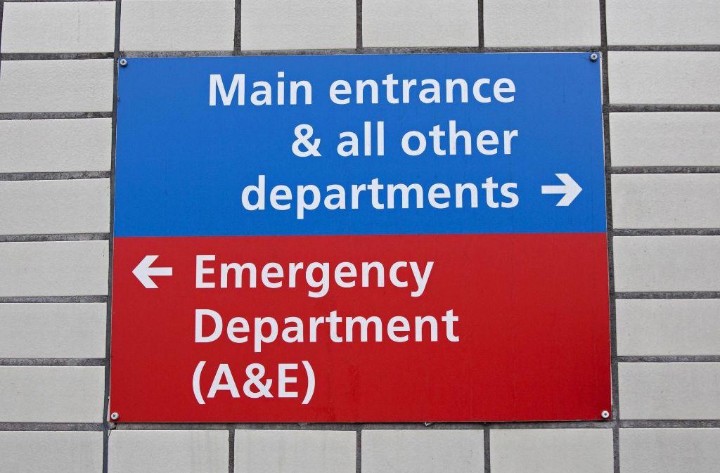 In Großbritannien ist es zu einer Cyberattacke auf Krankenhäuser gekommen. Foto: AFP
