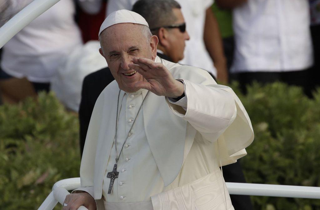 Nach einer Abtreibung sollte sich eine Frau nach Ansicht von Papst Franziskus mit dem ungeborenen Kind auseinandersetzen und versöhnen. Foto: AP