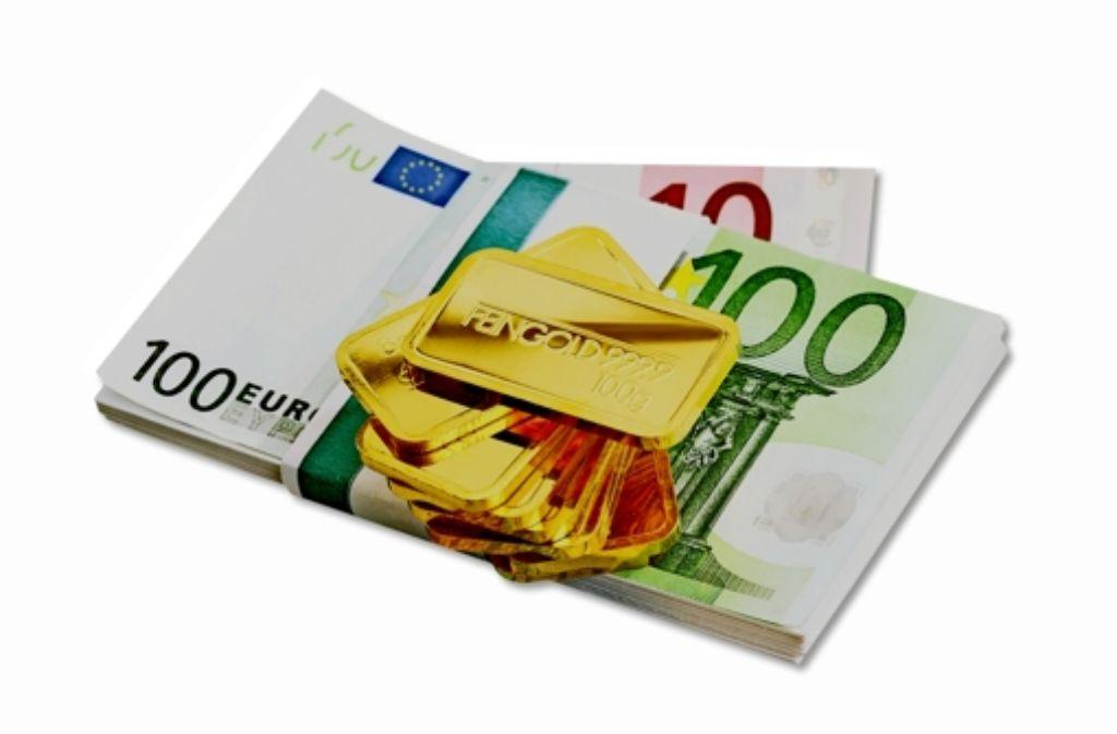 Kritiker des Geldsystems träumen von einem neuen Goldstandard. Foto: fotolia
