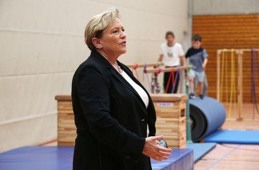 Susanne Eisenmann legt ihre Pläne für die Schulen offen