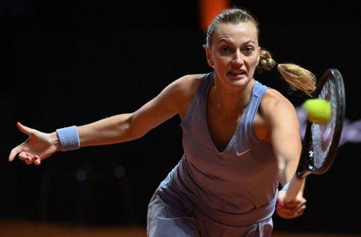 Nach Matchbällen: Aus für  Titelverteidigerin Kvitova