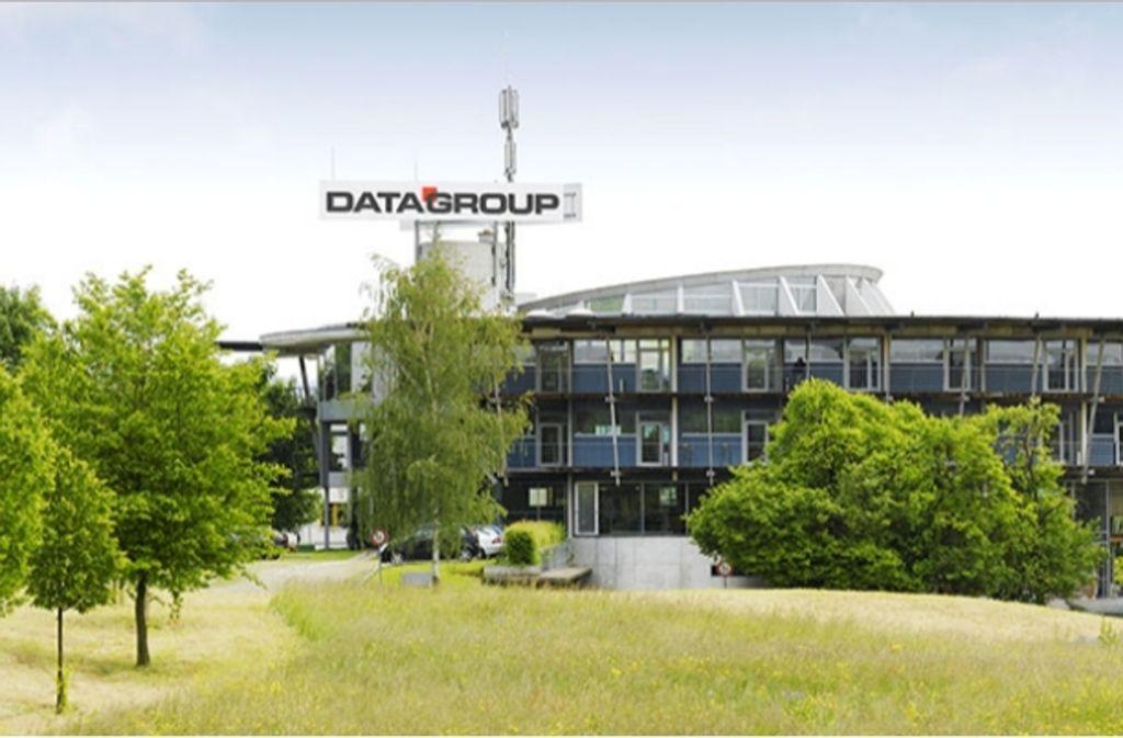 Die Zentrale von Datagroup in Pliezhausen bei Tübingen. Foto: Datagroup