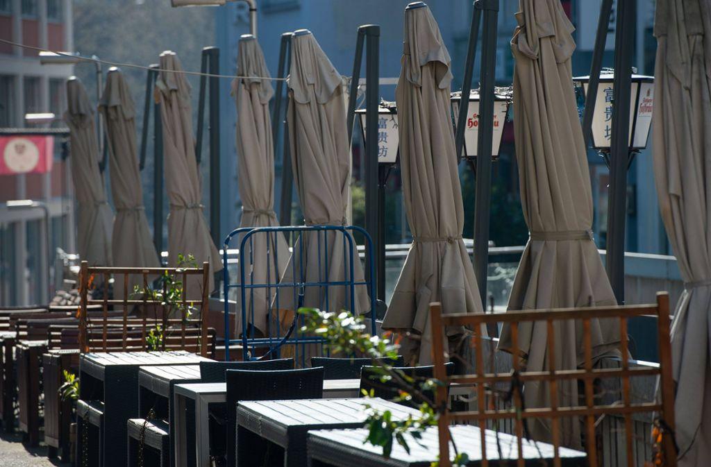Vielen Gastrobetrieben im Südwesten droht die Schließung. (Symbolbild) Foto: imago images/Lichtgut/Leif-Hendrik Piechowski