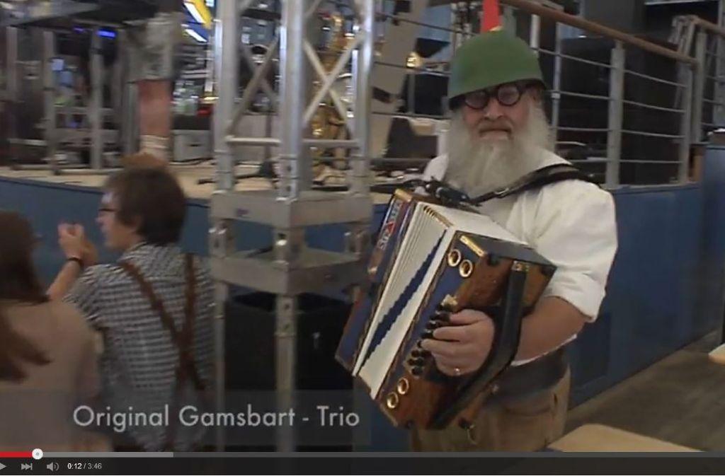 Das Gamsbart-Trio darf nicht im Festzelt auftreten. Foto: Screenshot Youtube/Folx MusicTelevision