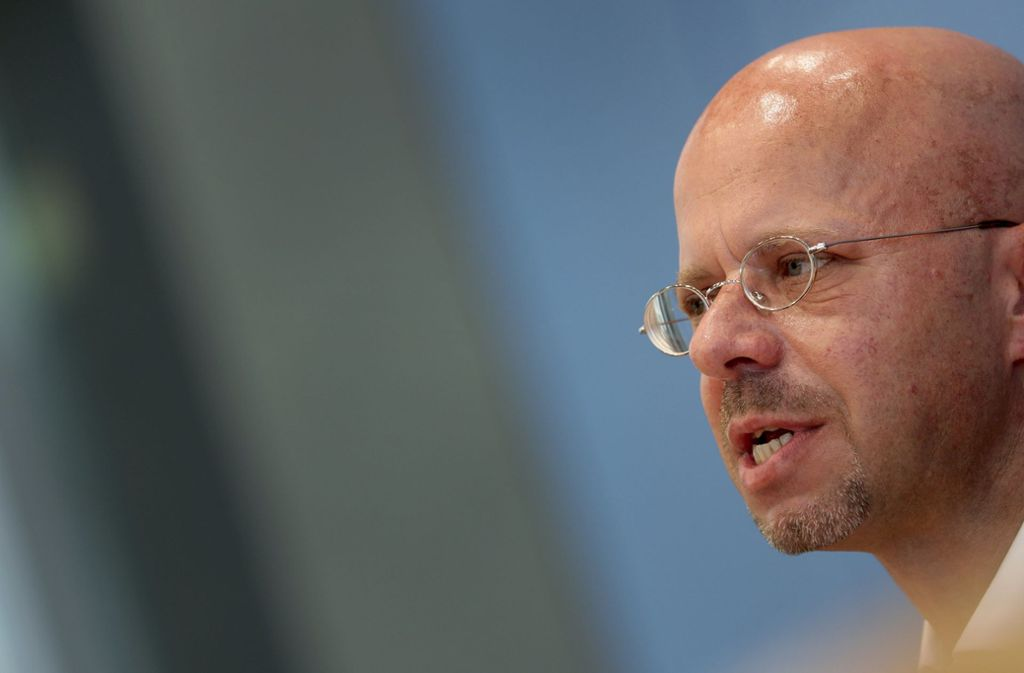 Der brandenburgische AfD-Landeschef Andreas Kalbitz Foto: AP