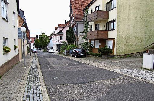 Klagen über den Zustand der Alten Dorfstraße