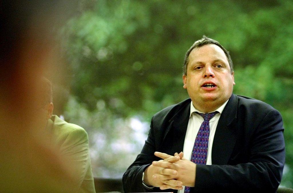 Er eckt nicht zum erste Mal an: Rechnungshof-Direktor Andreas Knapp, FDP Foto: Rudel