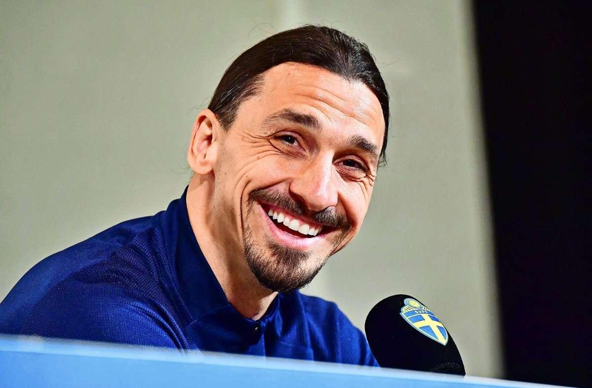 Kann einfach alles: Zlatan Ibrahimovic Foto: dpa/Jonas Ekstromer