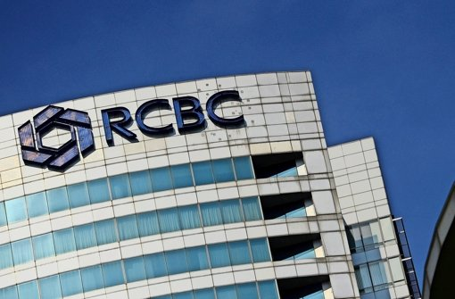 Diese Bank in Manila will untersuchen, wohin das Geld verschwunden ist Foto: AFP